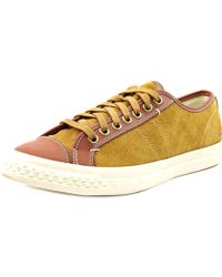PF Flyers - Rambler Lo Men Round Toe Canvas Tan Trainers - Lyst