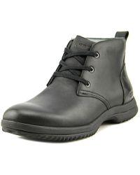 Bogs - Cruz Chukka Men Round Toe Leather Boot - Lyst