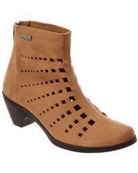 Mephisto - Women's Malika Leather Bootie - Lyst
