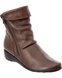 Mephisto - Women's Seddy Leather Bootie - Lyst