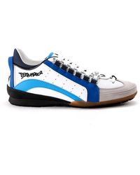 DSquared² - Men's S17sn434714m585 Multicolor Leather Sneakers - Lyst
