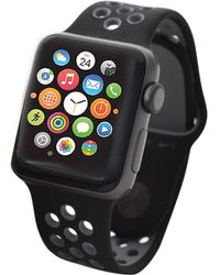 Apple   Nike+ Watch Series 2 38mm Space Grey Aluminum Case With Cool Grey Nike Sport Band   Lyst