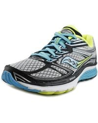 Saucony - Guide 9 Women Round Toe Synthetic Multi Colour Running Shoe - Lyst