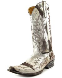"""Old Gringo - Nevada 13"""" Pointed Toe Leather Western Boot - Lyst"""