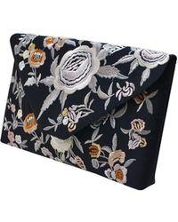 La Regale - Embroidered Matte Satin Floral - Lyst