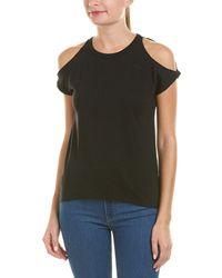 Pam & Gela - Cold-shoulder T-shirt - Lyst