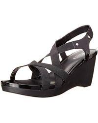 Ralph Lauren - Lauren Women's Rikki Wedge Sandal - Lyst