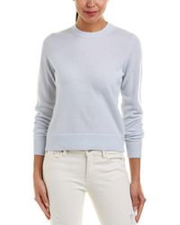 Vince - Overlay Cashmere Sweater - Lyst