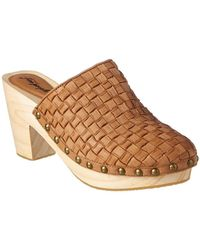 Free People - Adelaide Leather Clog - Lyst