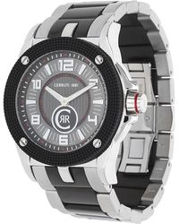 Cerruti 1881 - Watch Odissea Cerchio Black Cra018a211a - Lyst