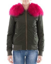 Mr & Mrs Italy - Women's Green Polyamide Outerwear Jacket - Lyst