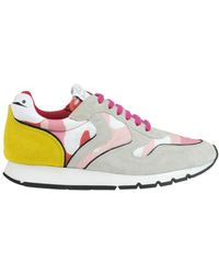 Voile Blanche - Women's Multicolor Suede Sneakers - Lyst