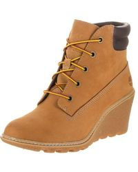 Timberland - Women's Amston 6-inch Wedge Boot - Lyst