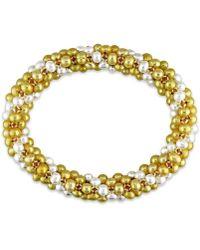 Catherine Malandrino | Multi-strand Bracelet With Freshwater Cultured Pearls | Lyst