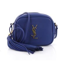 288699b217 Saint Laurent - Pre Owned Classic Monogram Blogger Crossbody Bag Leather  Small - Lyst