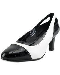 David Tate - Grove W Round Toe Leather Heels - Lyst