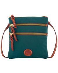 Dooney & Bourke - Nylon North South Triple Zip Shoulder Bag - Lyst