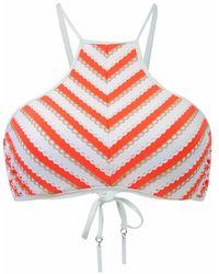 Seafolly - Nectarine Orange Bra Swimsuit Coast To Coast - Lyst