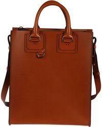 Sophie Hulme - Women's Brown Leather Handbag - Lyst