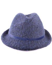 Jacob Cohen - Women's Blue Polyester Hat - Lyst