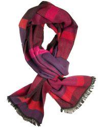 Dibi - Multi Red & Pink Pattern Scarf - Lyst