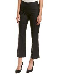Carolina Herrera - High-rise Wool-blend Straight Pant - Lyst