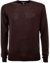 Beverly Hills Polo Club - Men's Brown Wool Sweater - Lyst