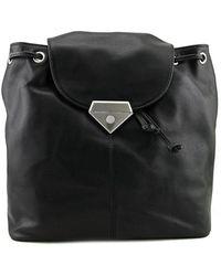 Linea Pelle | Roosevelt Women Leather Black Backpack | Lyst