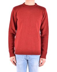 Jacob Cohen - Men's Red Wool Sweater - Lyst