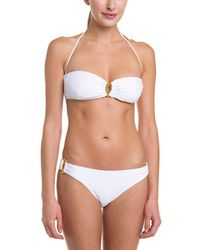 Shoshanna - Thessaly Textured U-ring Brief - Lyst