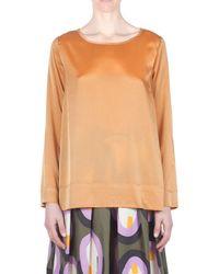 Ottod'Ame - Women's Orange Polyester Blouse - Lyst