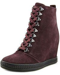 Fergie - Jillian Suede Fashion Sneakers - Lyst