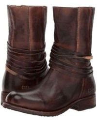 Bed Stu - Womens Rampton Leather Round Toe Ankle Fashion Boots - Lyst