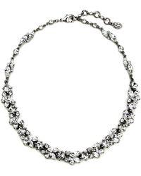 Ben-Amun - 'crystal Vine' Collar Necklace - Lyst