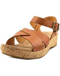 Kork-Ease - Kork-ease Myrna 2.0 Open Toe Leather Sandals - Lyst