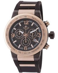 Gv2 - Mens Novara Black And Gold Watch - Lyst