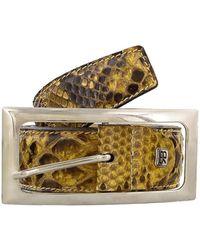 Renato Balestra | Mehelya Python Leather Womens Belt | Lyst