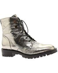Kenneth Cole - Women's Francesca Combat Boot - Lyst