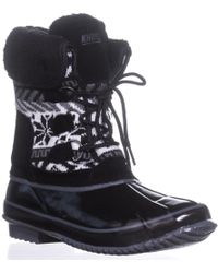 Khombu - Mayana Cold Weather Boots, Black - Lyst