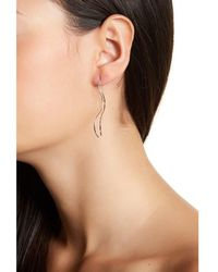 Adornia - Sterling Silver Double Sided Threader Earring - Lyst