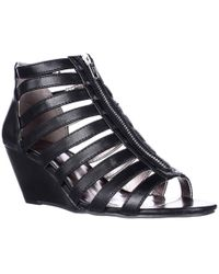 6515e8201d6 Lyst - Material Girl Mg35 Vivie Ankle-strap Wedge Pumps
