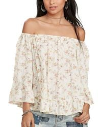 Denim & Supply Ralph Lauren - Off The Shoulder Top - Lyst