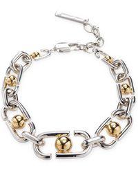 Marc By Marc Jacobs - Jewelry Icon Statement Link Bracelet - Lyst