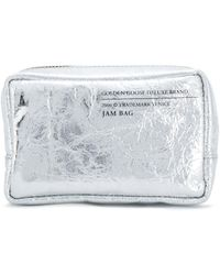 Golden Goose Deluxe Brand - Women's Silver Leather Clutch - Lyst