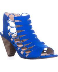 Vince Camuto - Eliaz Strappy Dress Sandals, Pool Side - Lyst