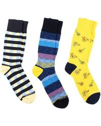 Unsimply Stitched - 3pc Socks - Lyst