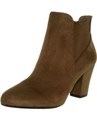 BCBGeneration - Women's Dolan Suede Taupe/taupe Ankle-high Boot - 8.5m - Lyst