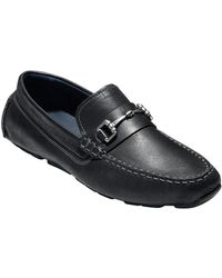 Cole Haan - Kelson Moc-toe Leather Loafers - Lyst