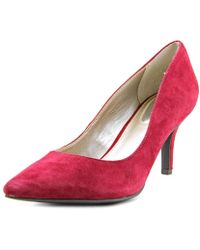 Alfani - Womens Jeules Leather Pointed Toe Classic Pumps - Lyst