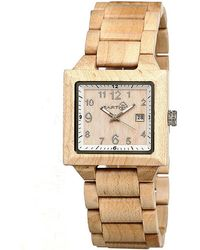 Earth Wood - Culm Bracelet Watch - Lyst